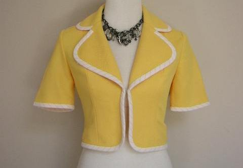 Canary Yellow Jacket