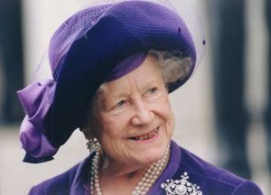 The Queen Mother, on her 100th birthday
