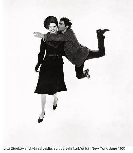 Richard Avedon - Lisa Bigalow and Alfred Leslie, June 1960