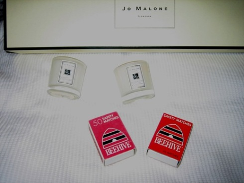 gratuitous Jo Malone product placement